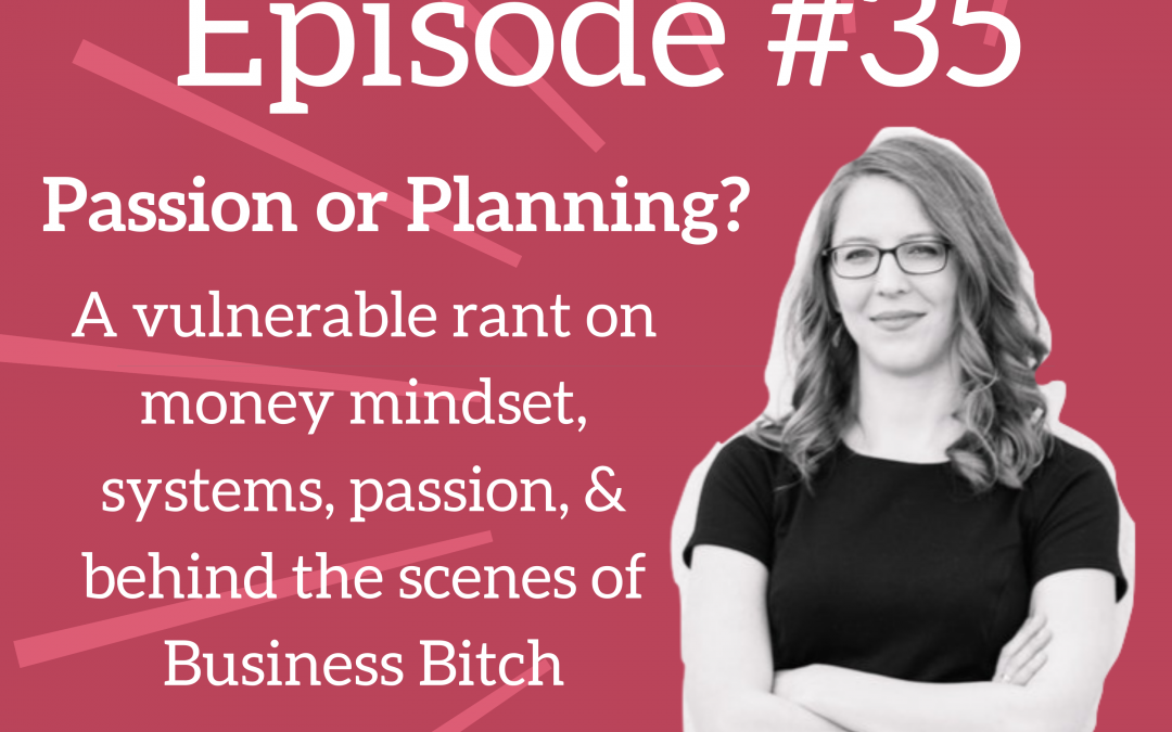 Passion vs. Planning: What Does Your Business Need Most?