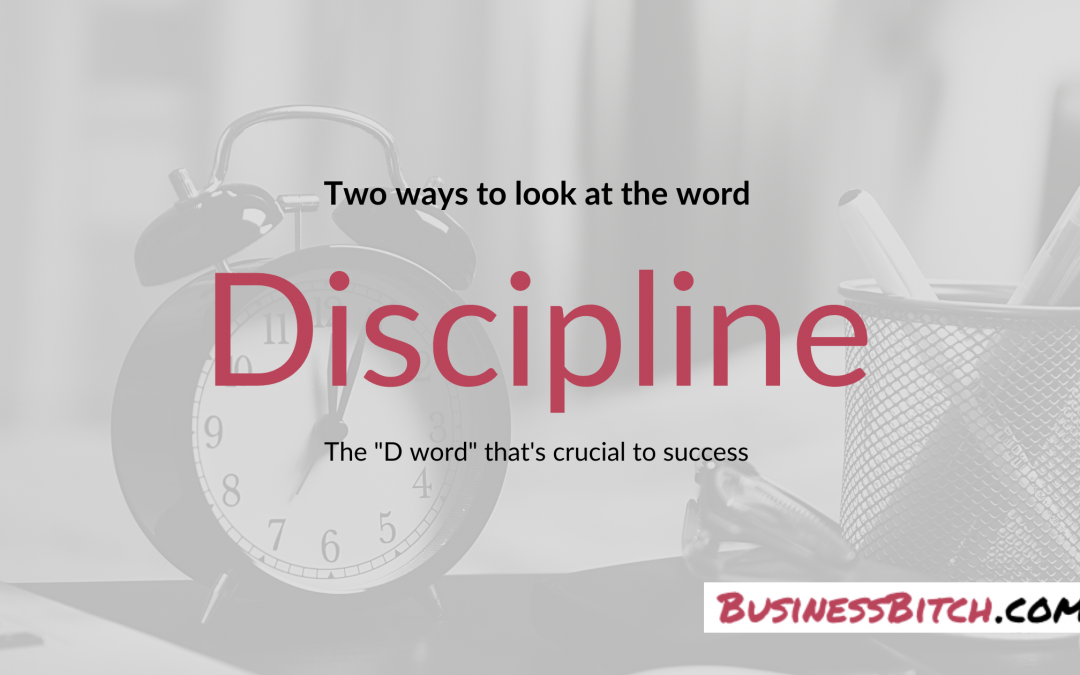 Two Ways to Look at 'Discipline'
