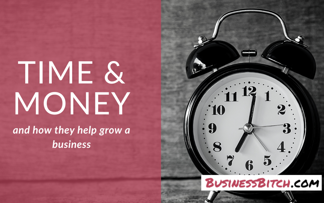 The Direct Relationship Between Time & Money in Growing a Business